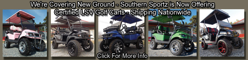 Certified LSV golf carts
