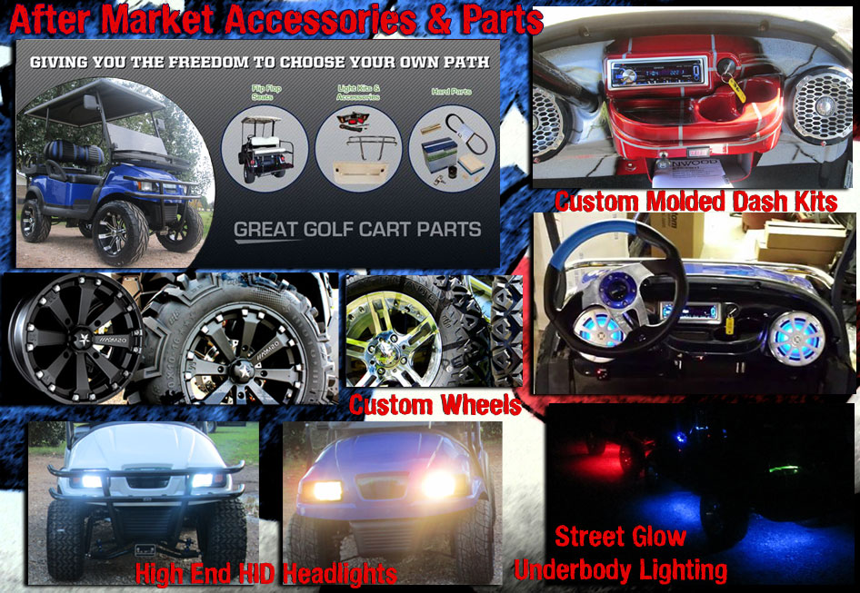 after market accessories and parts