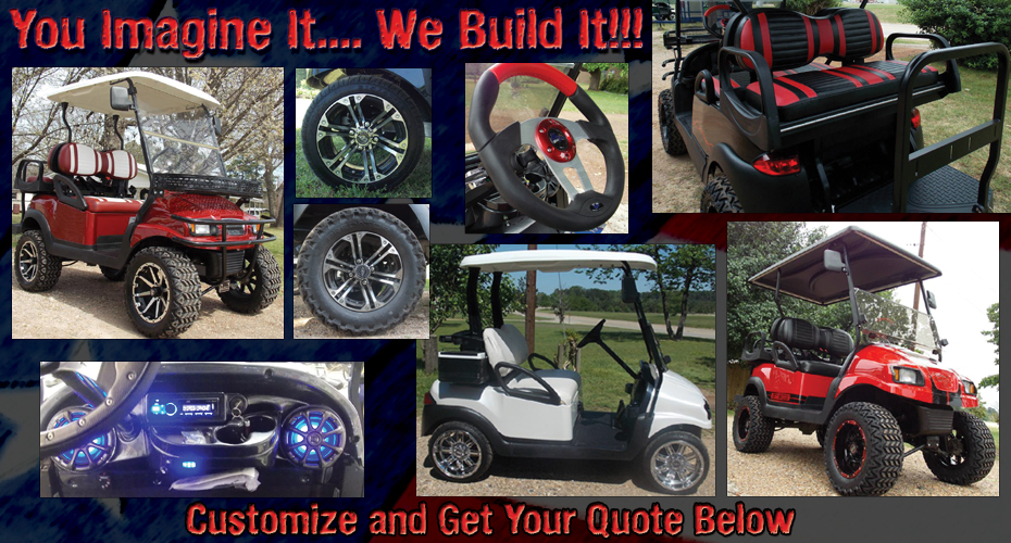 golf cart custom quote